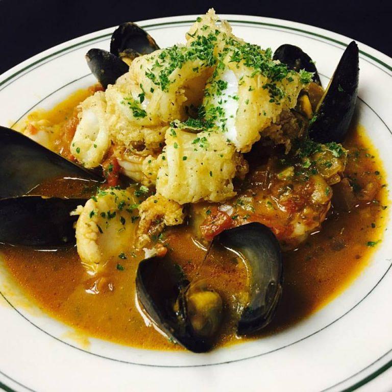 Seafood Creole Bouillabaisse recipe Seafood RTs Restaurant Alexandria VA
