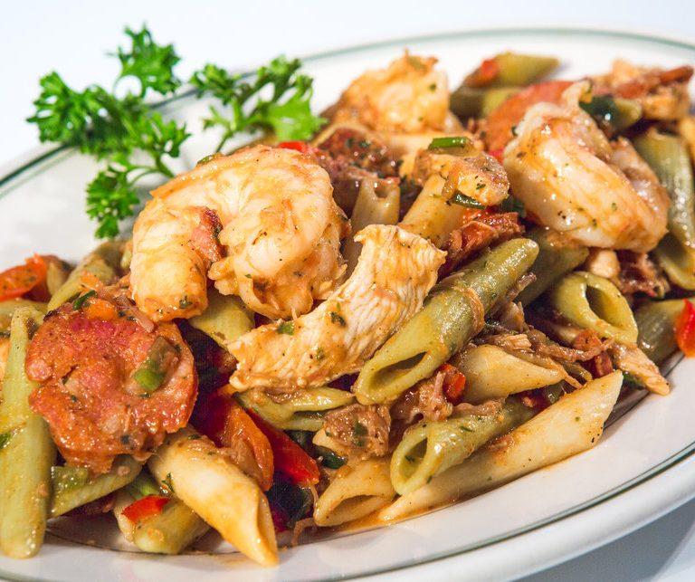 Pasta_jambalaya RT's Restaurant Alexandria VA