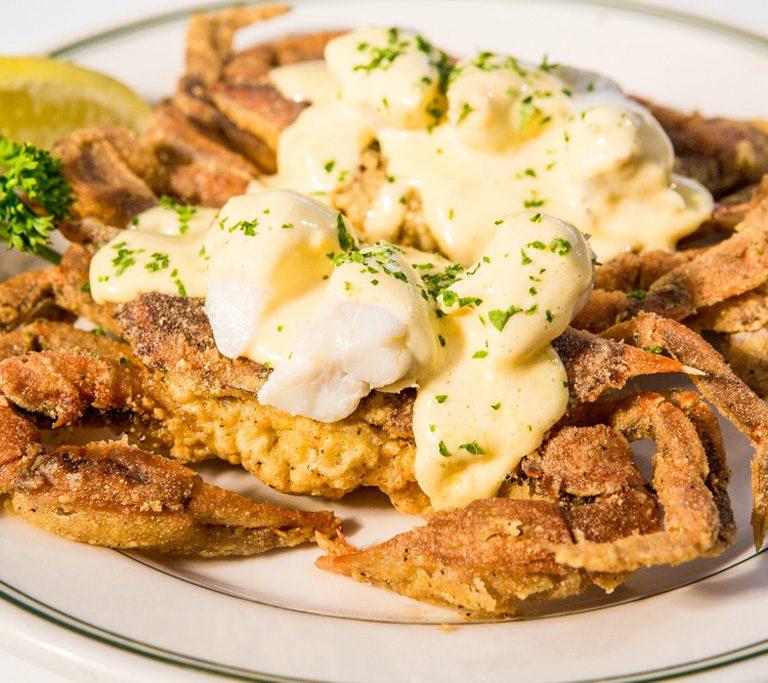 Softshell crabs RT's Restaurant